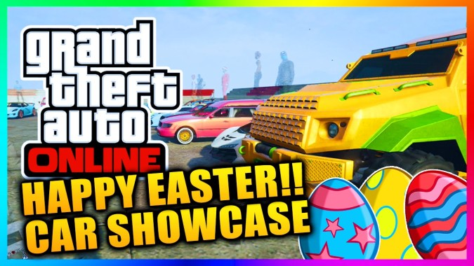 Gta 5 Online Easter Special Car Showcase Easter Themed Car Show