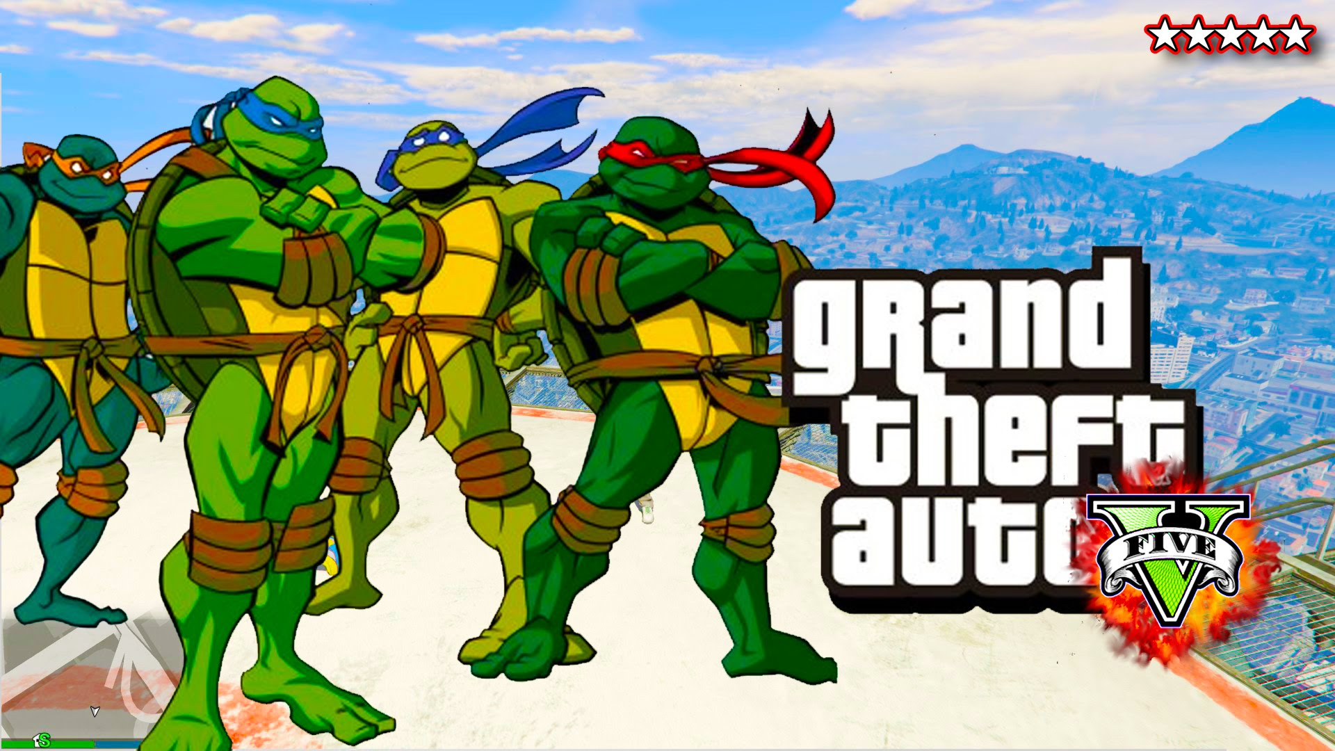 gta 5 online ninja turtles special