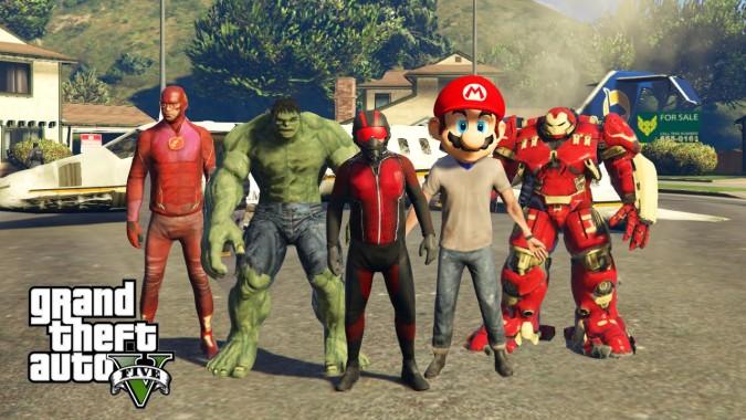 скачать моды для гта 5 на супергероев - фото 4