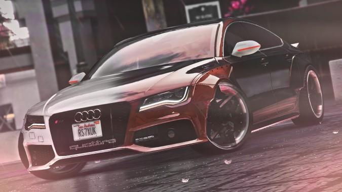 GTA Audi RS X UK Triple Car Mod Showcase GTA Junkies - Audi car gta 5