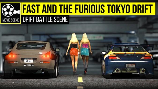 Grand Theft Auto Tokyo Drift Nissan Silvia Vs Nissan