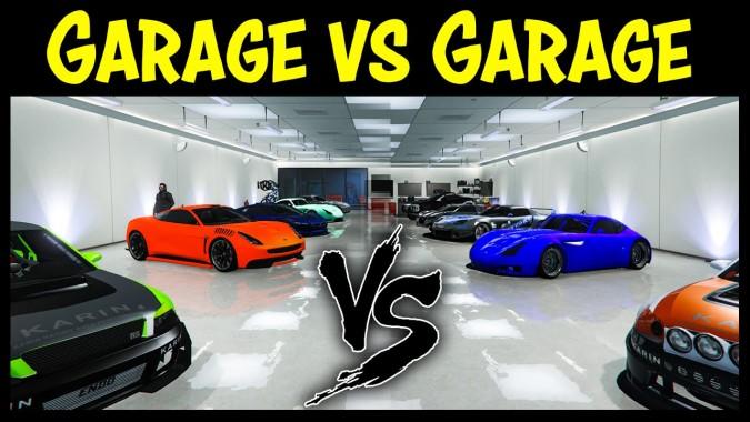 GTA Online GARAGE Vs GARAGE EP Best Cars Competition - Cool cars gta 5 online
