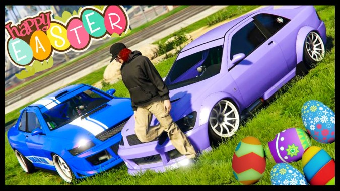 Gta 5 Easter Special Car Showcase Easter Themed Car Show In Gta