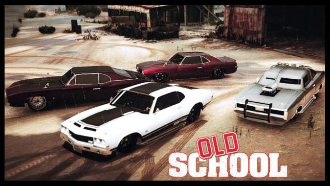 Gta 5 Online Old School Themed Car Show Xbox One Pc Gta