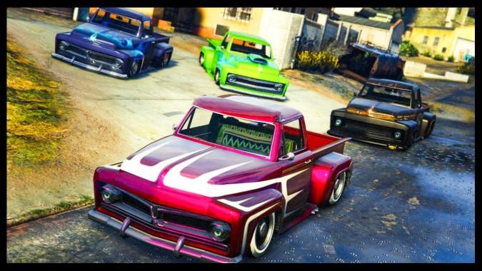Gta 5 Online Slamvan Custom Car Show Lowriders Custom Classics