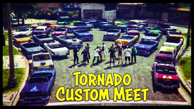 Gta 5 Online New Tornado Custom Car Show Best Looking Cars