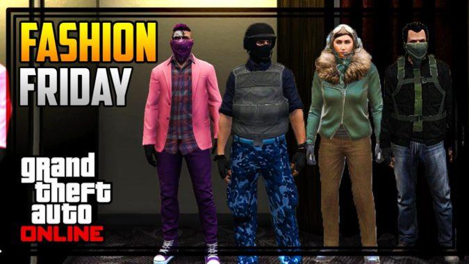 GTA 5 FASHION FRIDAY! (Sci-Fi Gangster Russian Looter Female Pilot Quicksilver u0026 MORE!) u2013 GTA ...