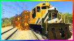 GTA-ONLINE-FREEMODE-MADNESS-ULTIMATE-STOPPING-THE-TRAIN-ATTEMPT-DUMP-TRUCK-FREEFALL-MORE