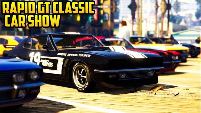 Gta Online Rapid Gt Classic Car Show The Best Customization